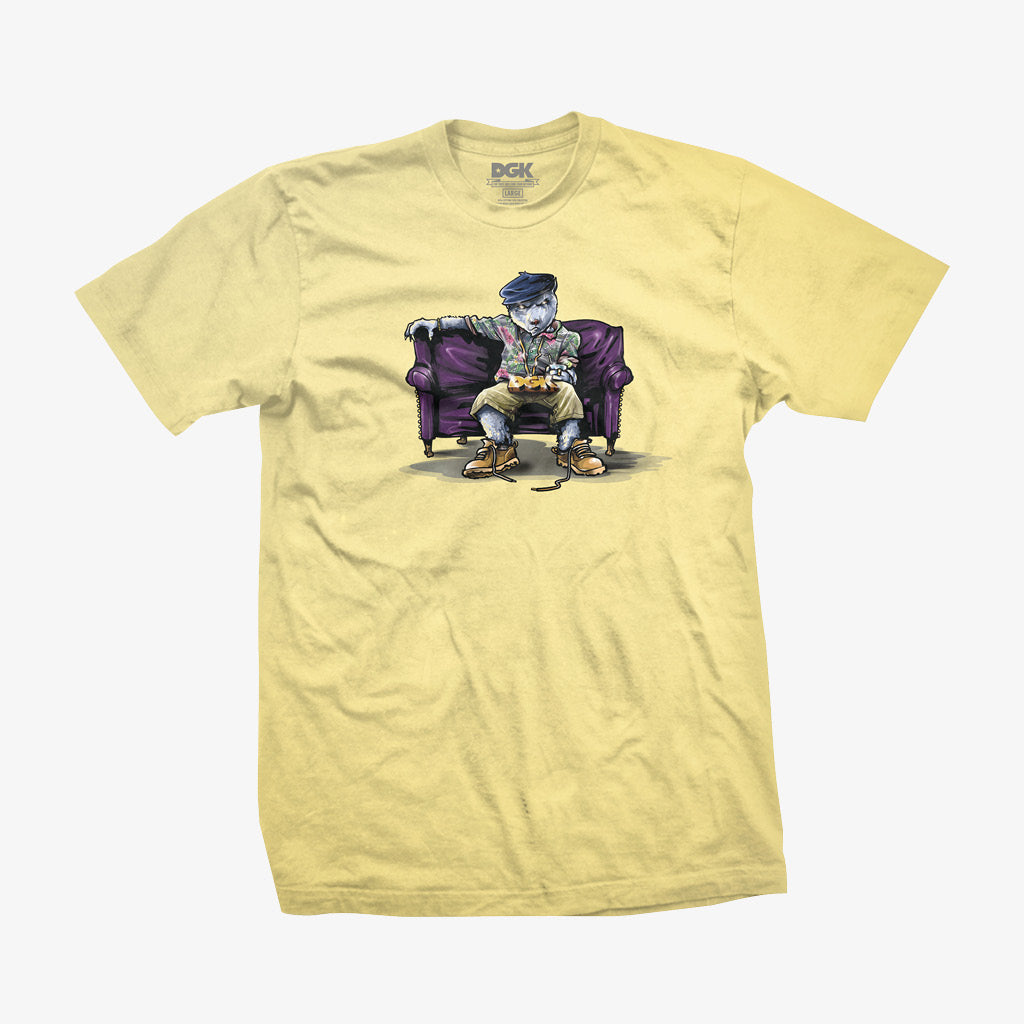 DGK Chill Poppa T-Shirt Banana