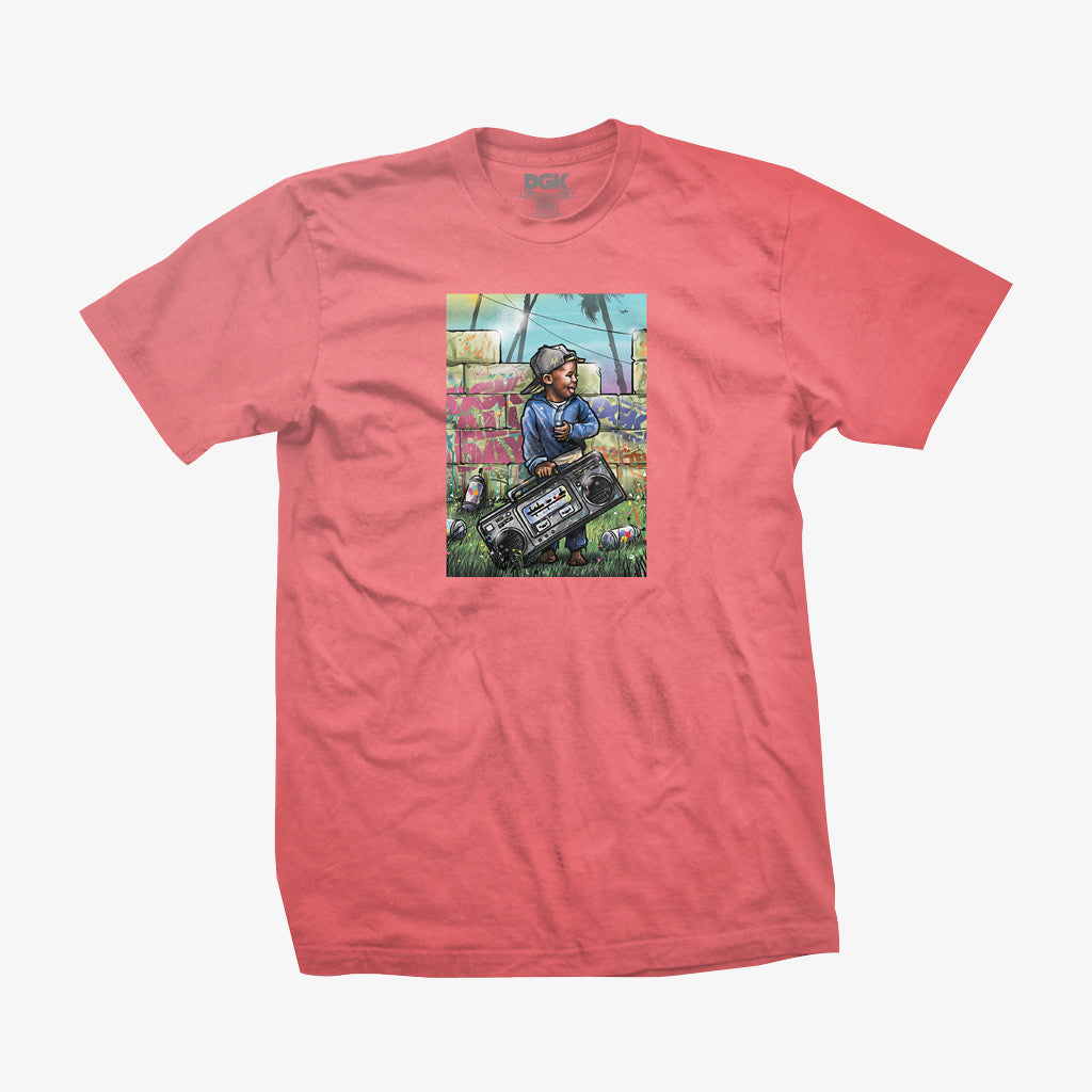 DGK Young Ones T-Shirt Coral