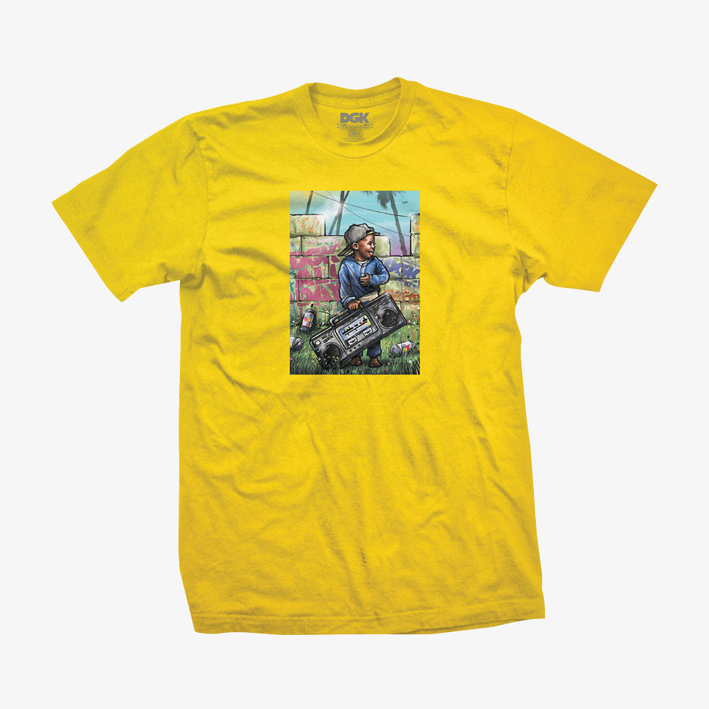DGK Young Ones T-Shirt Yellow
