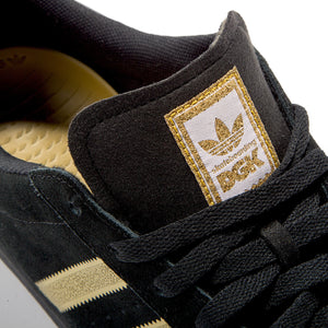 DGK Adidas Superstar Shoe Vulcanized Black