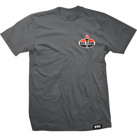 DGK FTC Torch Shirt Grey