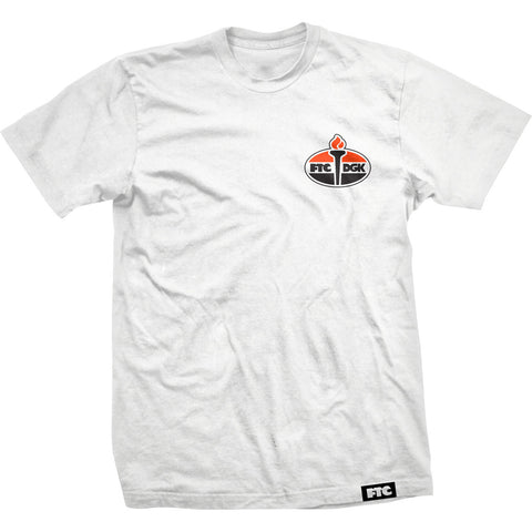 DGK FTC Torch Shirt White