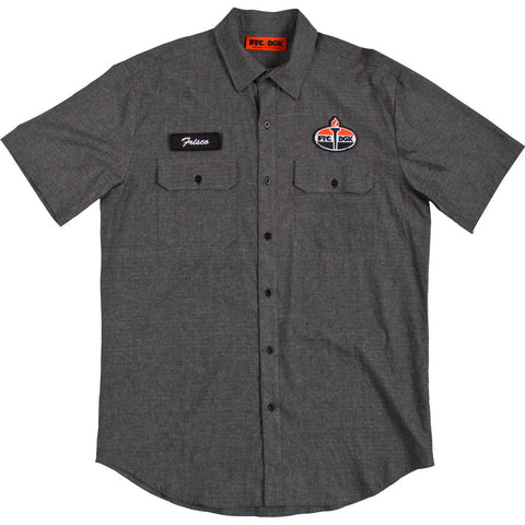 DGK FTC Industrial Shirt Black