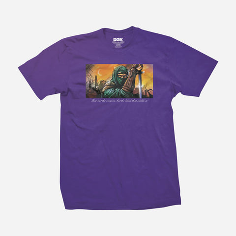 DGK Fear Not Shirt Purple