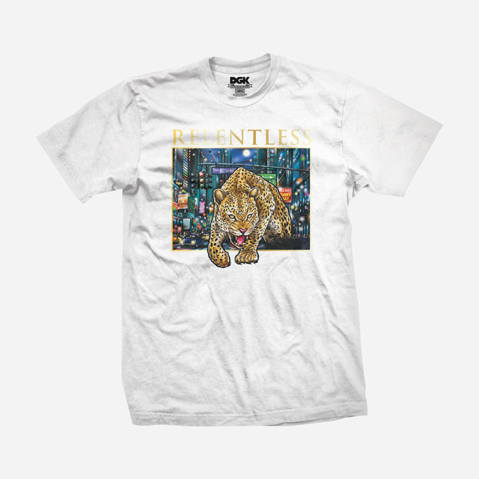DGK Ally Cat T-Shirt White