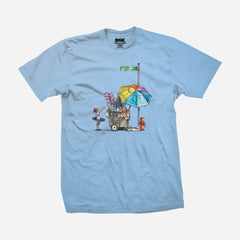 DGK Vendor T-Shirt Powder Blue