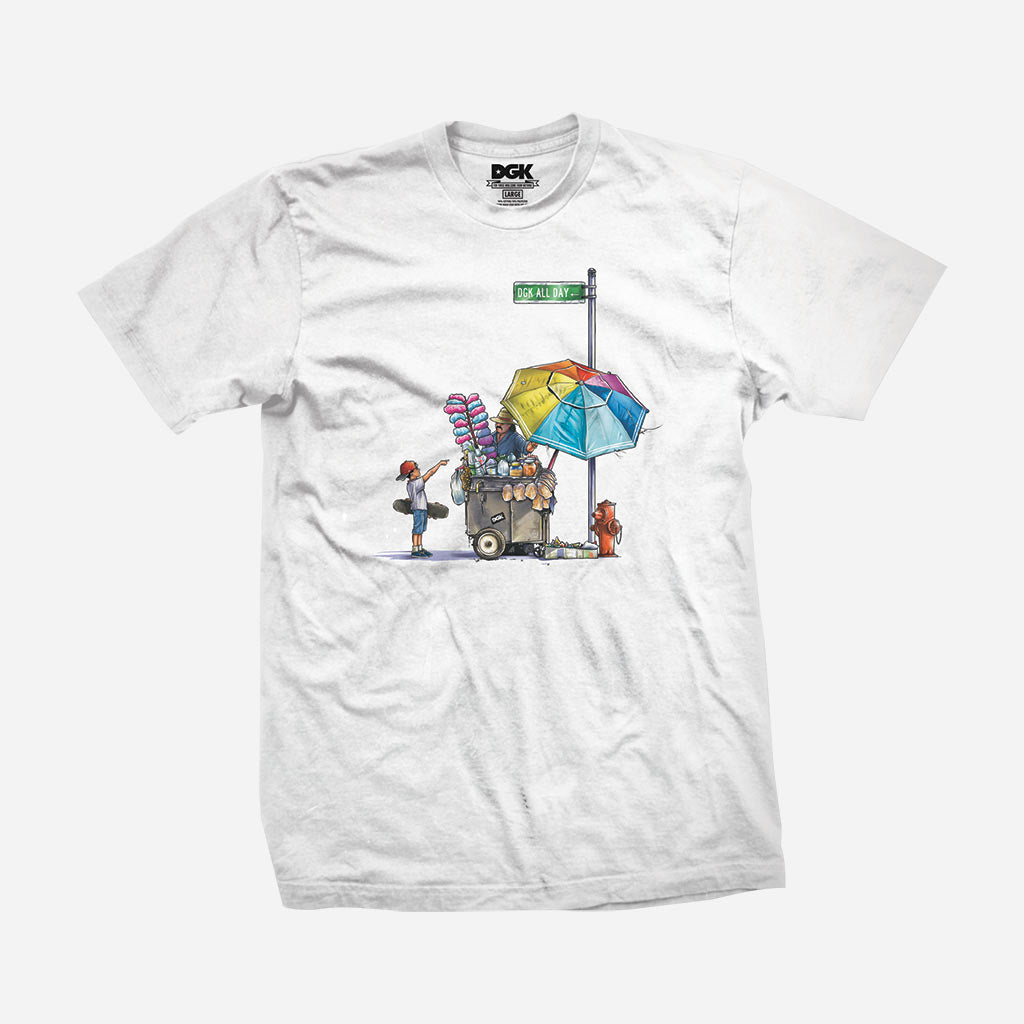 DGK Vendor T-Shirt White
