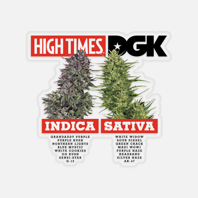 High Times Sticker