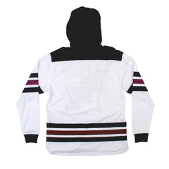 DGK Penalty Hooded Knit White