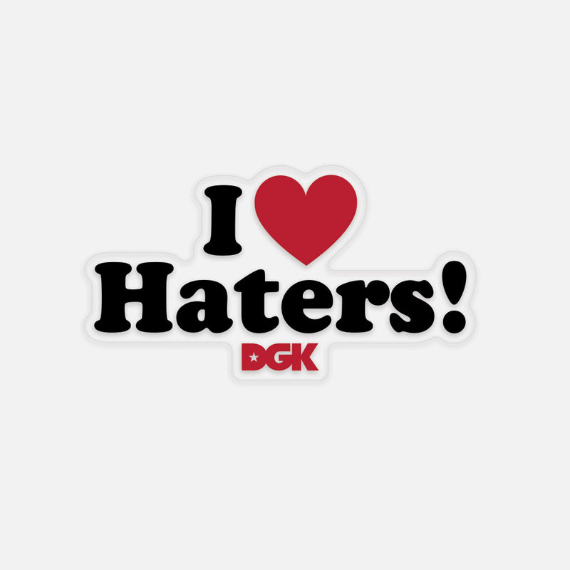 Haters Sticker