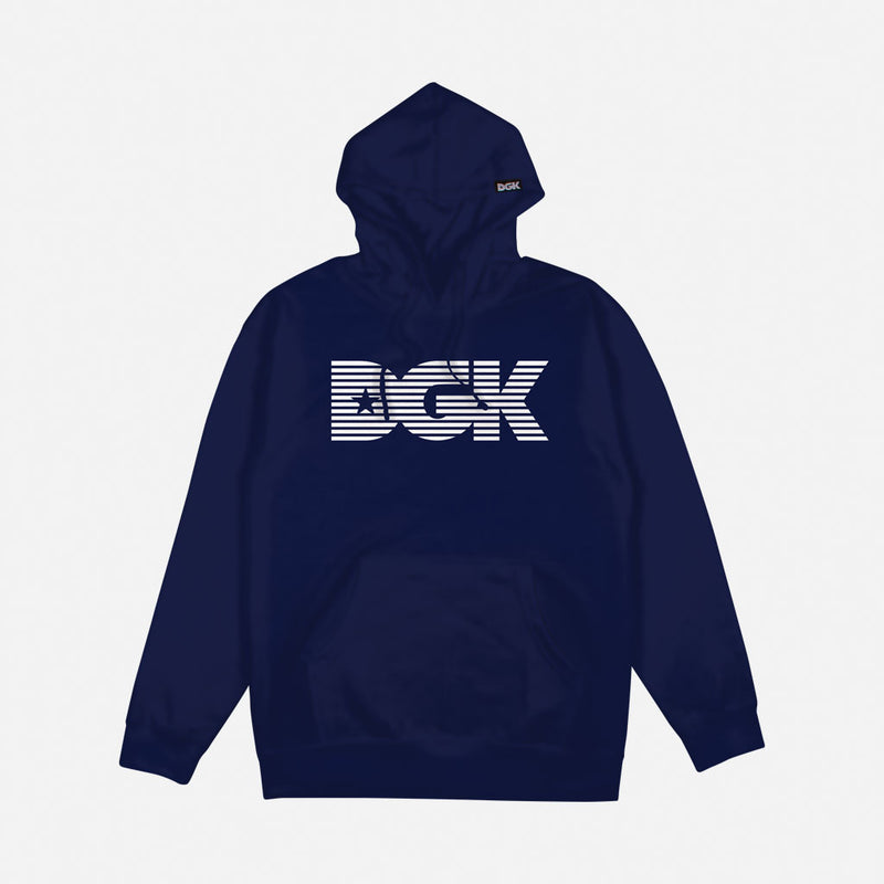 DGK Levels Fleece Sweatshirt Navy