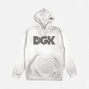 DGK Levels Fleece Sweatshirt White