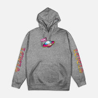 DGK Higher Hooded Sweatshirt Athletic Heather