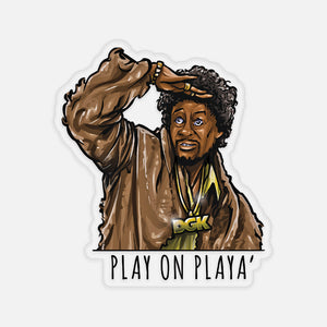 Playa Sticker