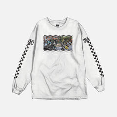 DGK Ride or Die Long Sleeve T-shirt White