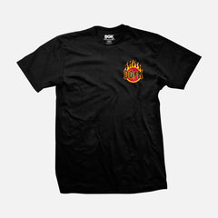 DGK Flame T-Shirt Black