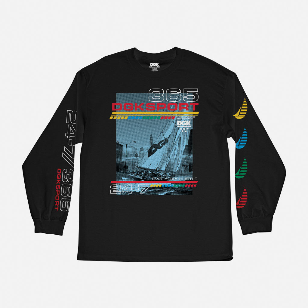 Seascape Long Sleeve T-Shirt
