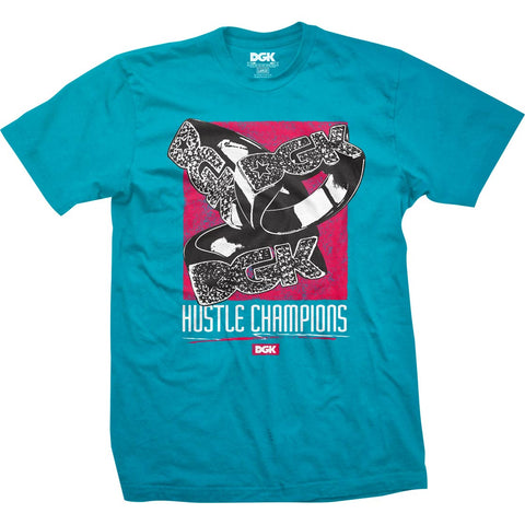DGK Champs T-shirt Turquoise