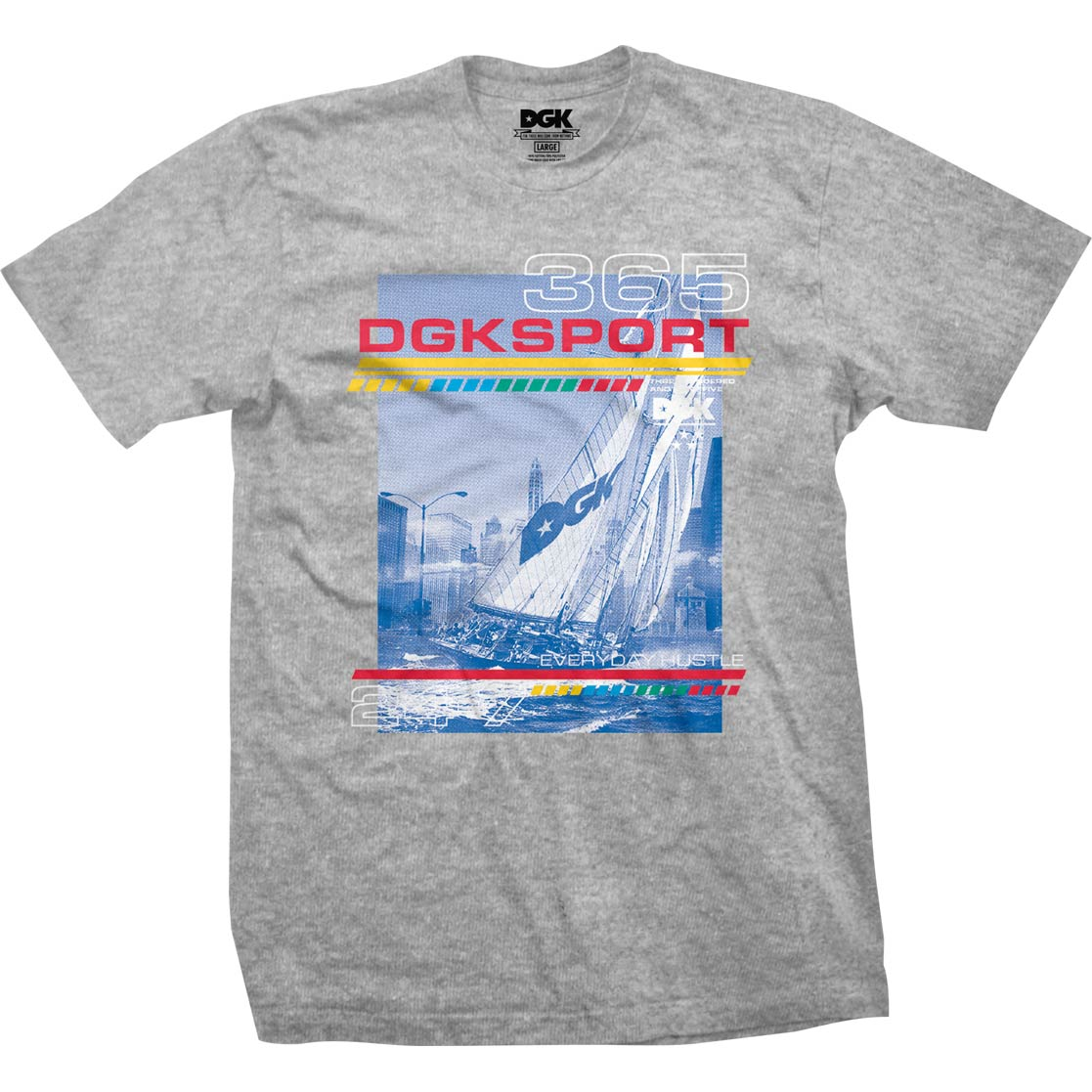 DGK Seascape T-Shirt Athletic Heather