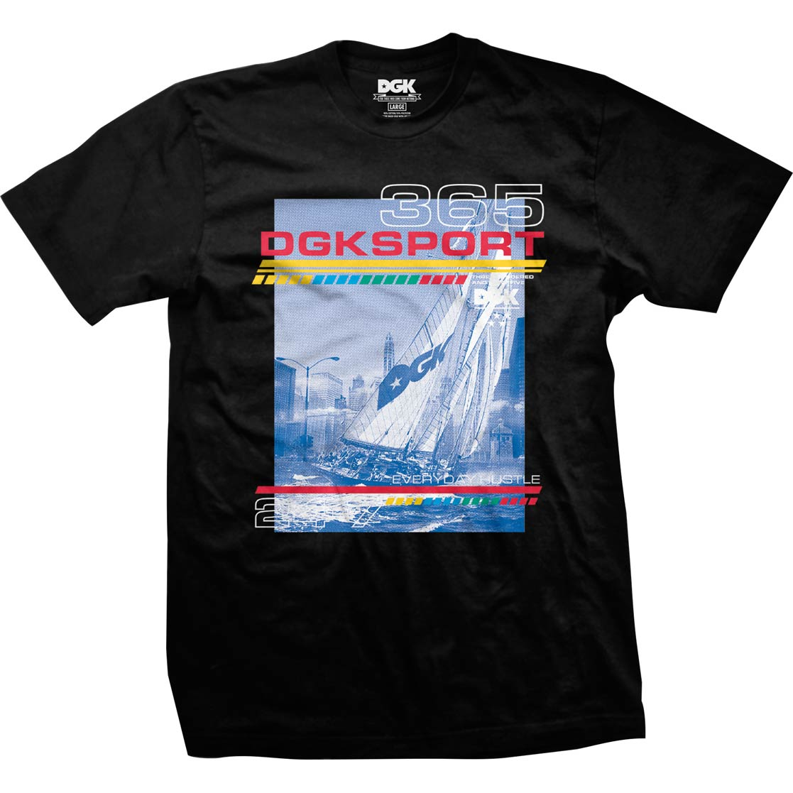 DGK Seascape T-Shirt Black
