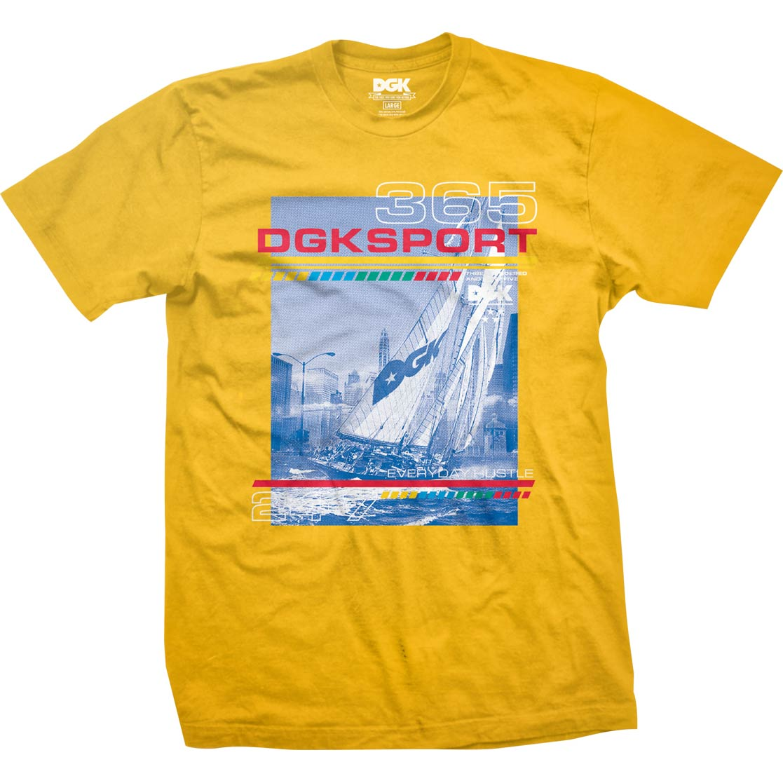 DGK Seascape T-Shirt Gold