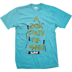 DGK State of Mind T-shirt Pacific Blue