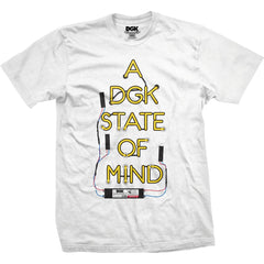 DGK State of Mind T-shirt White