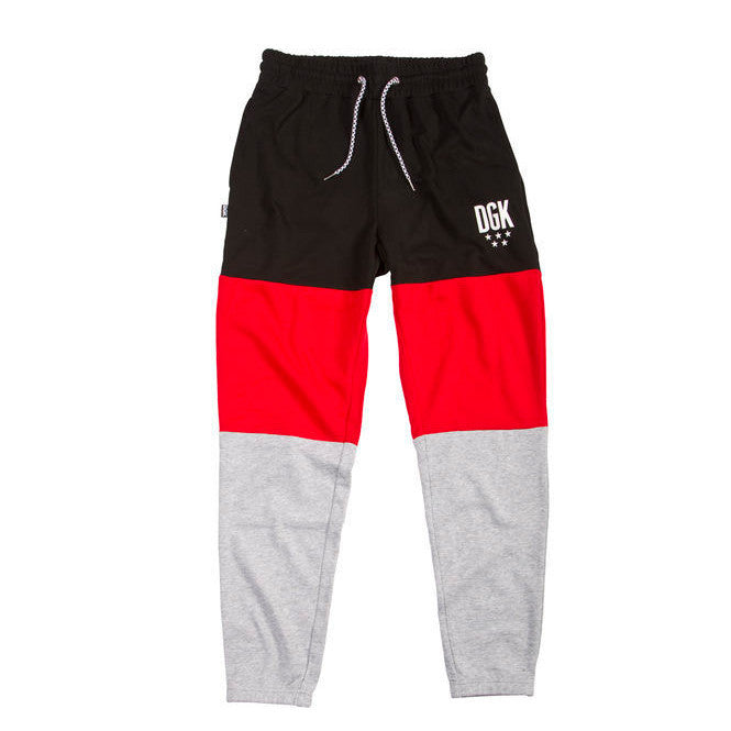 DGK Fast Break Pants Red