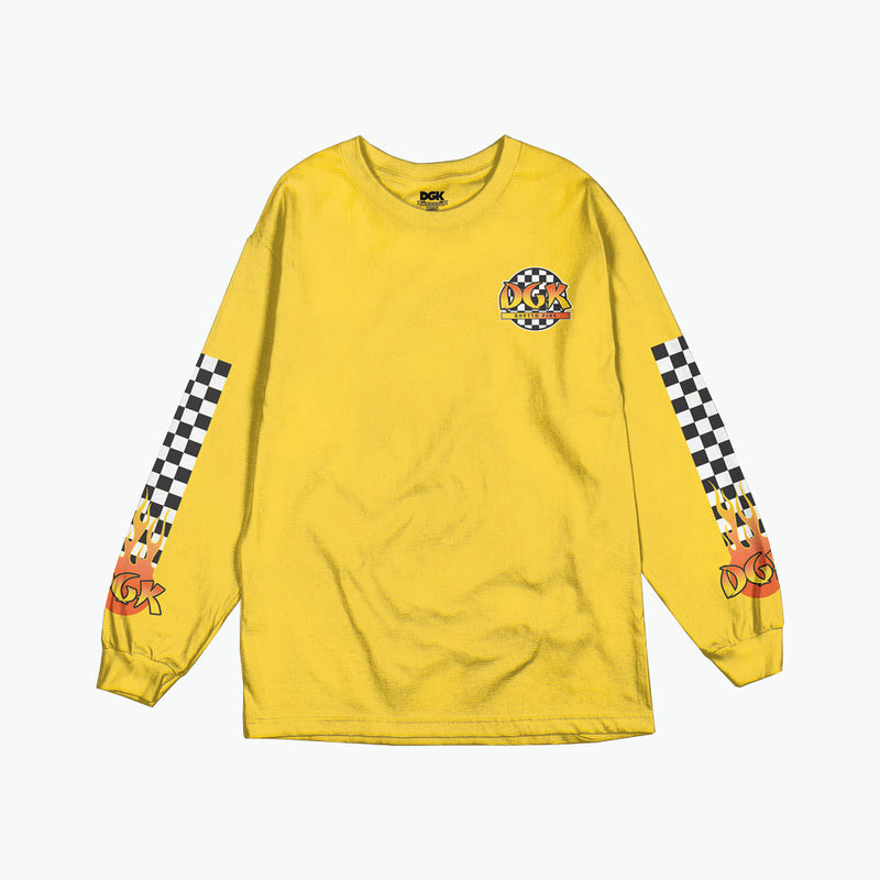 Ghetto Fire Long Sleeve T-Shirt
