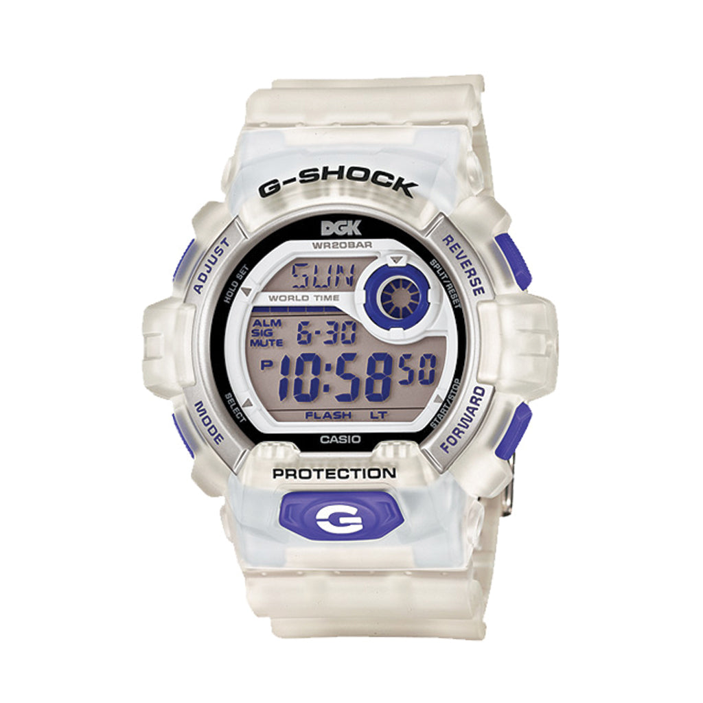 DGK x G-Shock White Limited Edition