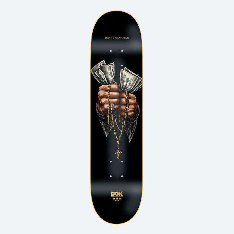 "DGK Faith John Shanahan 8.0"" Skateboard Deck"