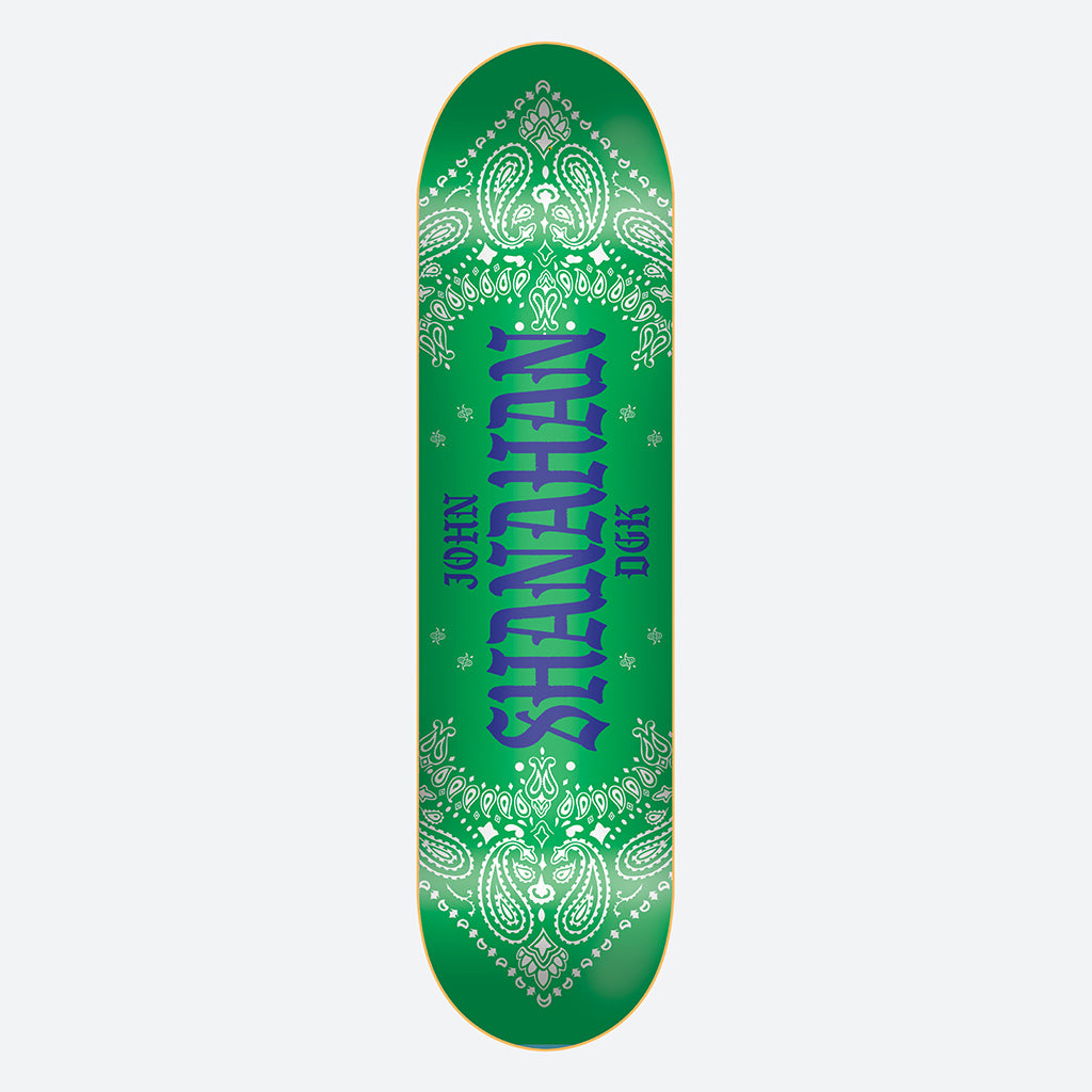 "DGK Colors John Shanahan 8.0"" Skateboard Deck"
