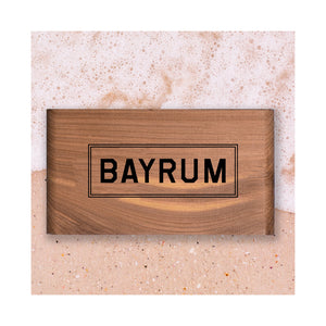 Bayrum Scented Wood Block - Gent Scents