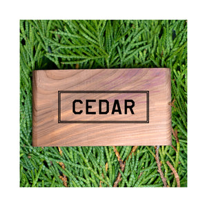 Cedar Scented Wood Block - Gent Scents