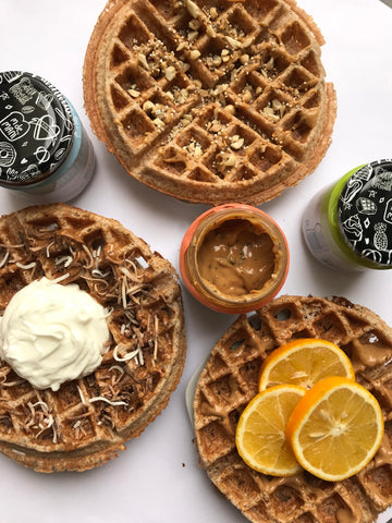 Waffles Saludables
