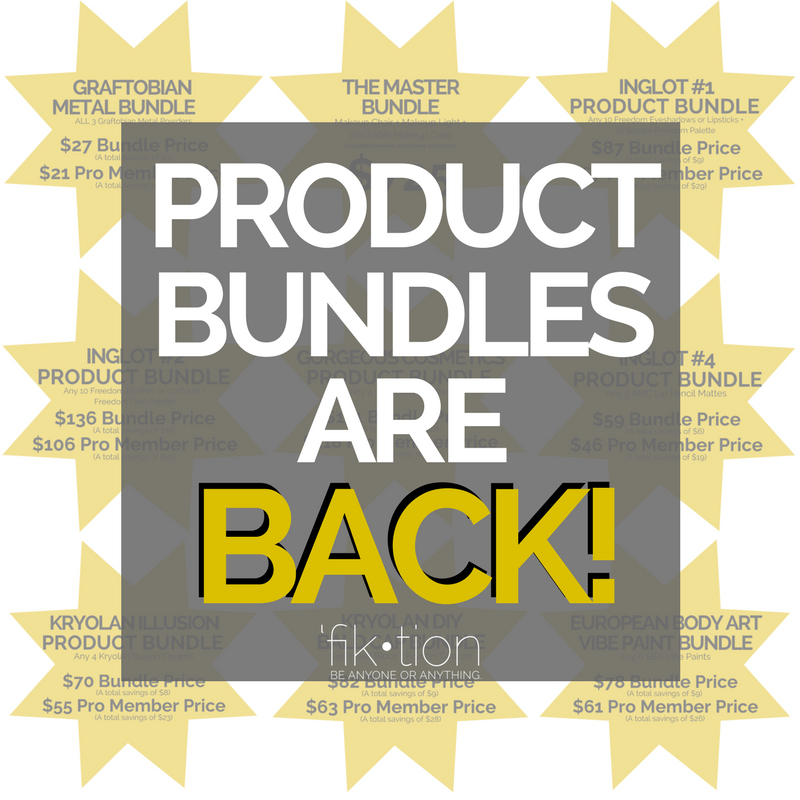 Product Bundles are BACK! Up to 30% savings!