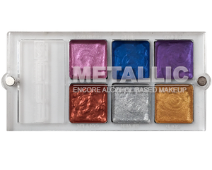Metallic Alcohol base palette