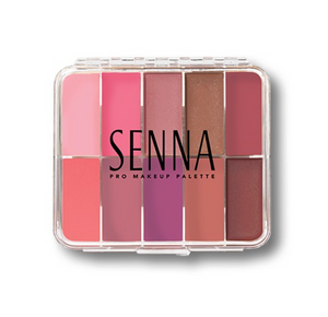 Senna Cosmetics Slipcover Cream to Powder Palette Cheeky Blush