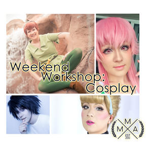 Video Game Character Cosplay - April 13th - Weekend Workshop