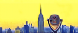 NEW YORK CITY SKYLINE W/VIEWFINDER (YellowSky) - Mug