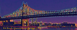 ED KOCH QUEENSBORO BRIDGE, NEW YORK CITY (Vibrant) - Mug