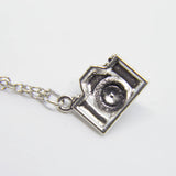 """GRAB YOUR CAMERA"" CHARM NECKLACE"