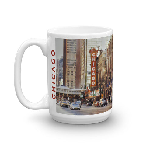 CHICAGO THEATER (Classic) - Heavy 15oz Mug made in the USA