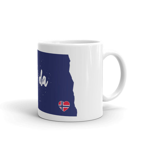UFF DA NORTH DAKOTA (NORWAY) Coffee/Tea Mug