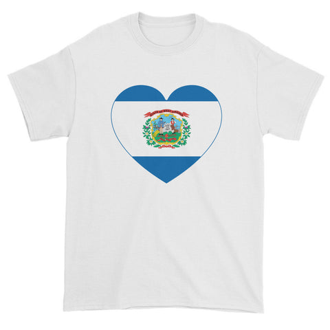 WEST VIRGINIA HEART - Mens/Unisex short sleeve t-shirt