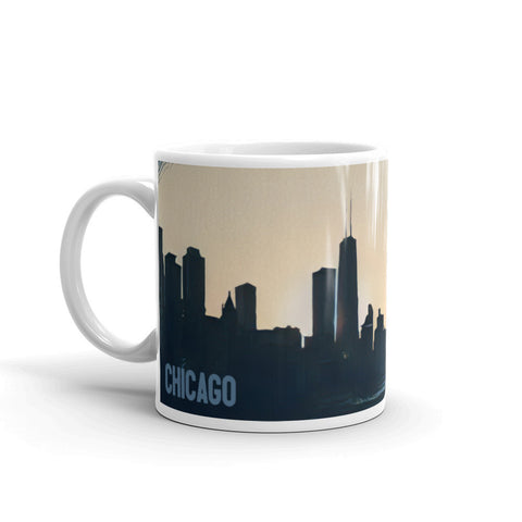 CHICAGO SKYLINE SILHOUETTE - Mug
