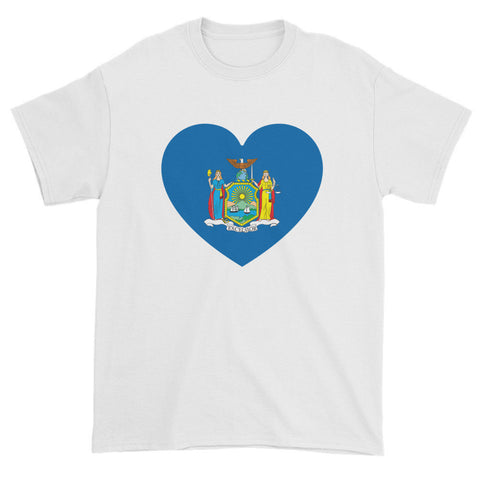 NEW YORK HEART - Mens/Unisex short sleeve t-shirt