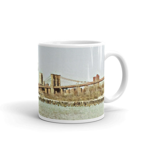 BROOKLYN BRIDGE NEW YORK (VINTAGE) - Mug