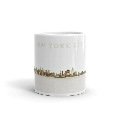 NEW YORK CITY SKYLINE (Vintage) - Mug