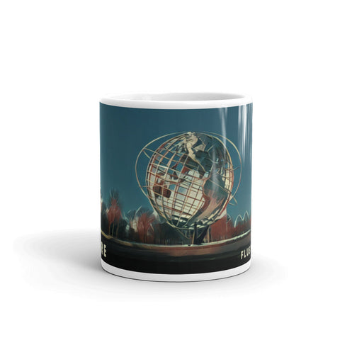 UNISPHERE, FLUSHING MEADOWS, NEW YORK (Retro) - Mug